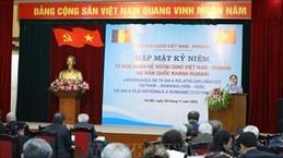 70th anniversary of Vietnam-Romania diplomatic ties celebrated in Hanoi