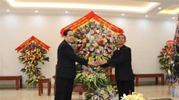 Front leader offers Christmas greetings to Phat Diem Diocese in Ninh Binh