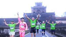 More than 4,500 runners join VnExpress Marathon Hue 2020