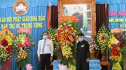101st birthday of Hoa Hao founder marked in An Giang