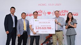 Over 3 billion VND raised at Run for the Heart race