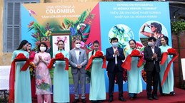 Exhibition in Quang Nam introduces Colombian flowers