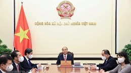 Vietnamese President holds phone talks with Romanian counterpart