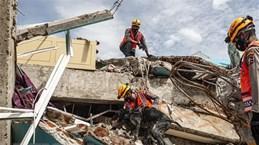 Strong earthquake strikes off Indonesia's Sulawesi island