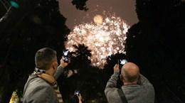Fireworks across Vietnam kick off Year of the Rat