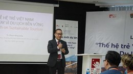 Vietnamese youth join hands for sustainable tourism