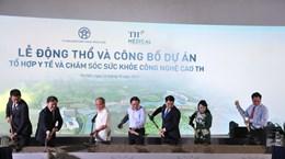 Work on hi-tech healthcare complex starts in Hanoi