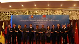 ASEAN, China talk DOC implementation at 18th SOM meeting