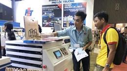 Exhibitions on industrial machines, equipment open in HCM City