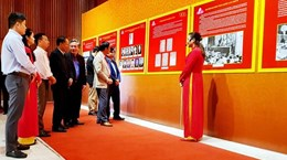 Quang Ninh's photo exhibition features development of CPV