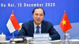 Vietnam, Singapore hold 13th political consultation