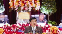 Laos: six development goals for 2021-2025 outlined at party congress
