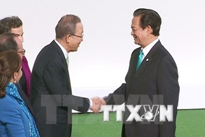 PM attends opening of UN climate change conference in Paris