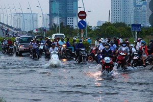 HCM City green lights 84 flood prevention projects