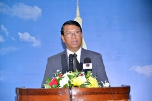Laos supports peaceful settlement in East Sea issue