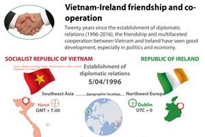 Vietnam, Ireland enjoy good friendship, cooperaiton