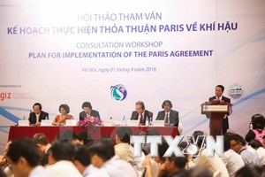 Vietnam geared up for Paris Climate Change deal