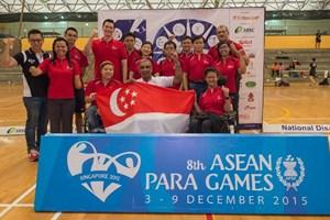 ASEAN Para Games kick off in Singapore