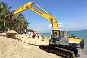 Quang Nam: Cua Dai beach dyke approved