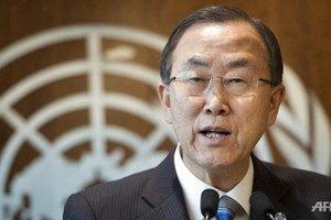 UN chief calls on East Sea dispute parties abide by law