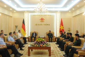 Germany backs Vietnam's stance in settling East Sea dispute