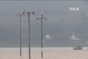 Heavy rain continues to pound central region