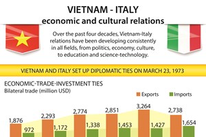 Vietnam-Italy economic and cultural relations