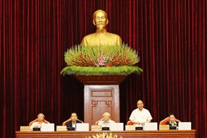 Party Central Committee's seventh session discusses personnel