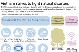 Vietnam strives to fight natural disasters