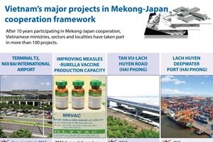 Vietnam's major projects in Mekong-Japan cooperation framework