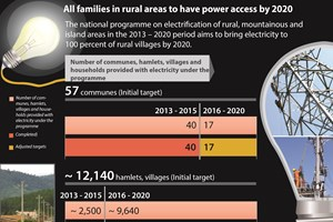 Programme brings electricity to rural areas