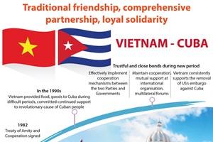 Vietnam, Cuba enjoy loyal solidarity through historical periods