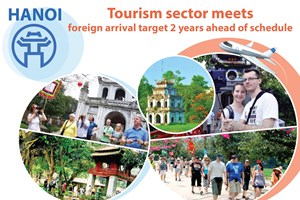 Tourism sector meets foreign arrival target 2 years ahead of schedule