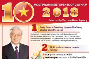 Top 10 events of Vietnam in 2018