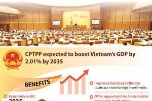 CPTPP expected to boost Vietnam's GDP by 2.01% by 2035