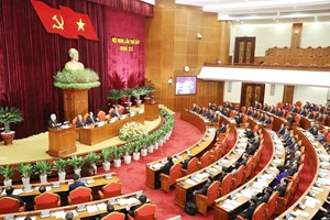 Party chief stresses personnel work at Party Central Committee session