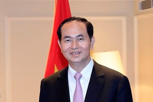President Tran Dai Quang congratulates upcoming AIPA-39