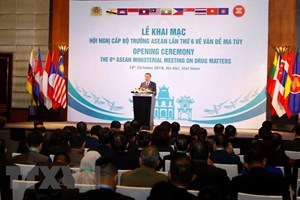 Vietnam urges ASEAN to reiterate political commitment to drug fight