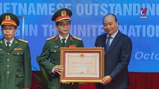 Outstanding contributors to peacekeeping activities honoured