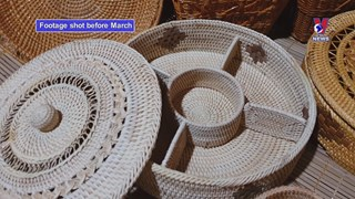 Hung My promotes rattan, bamboo products