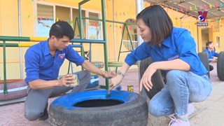 From old tyres to kids' fun