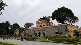Hanoi marks former royal citadel's UNESCO recognition