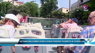 Vietnam welcomes over 3.8 million foreign tourists in 10 months