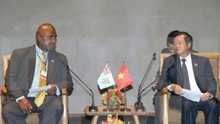Vietnamese, Fijian legislatures urged to boost ties