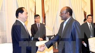 President: Vietnam, Sudan hold potential for stronger cooperation