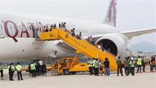 Da Nang welcomes Qatar Airways' first flight from Doha