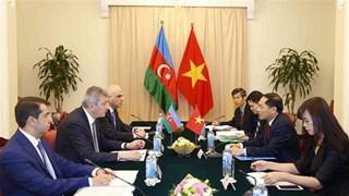 Vietnam, Azerbaijan foreign ministries hold political consultation