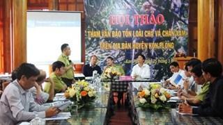 Workshop talks conservation of rare langur in Kon Tum