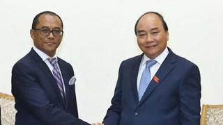 Prime Minister receives visiting Timor-Leste minister