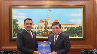 HCM City, UAE seek to enhance economic partnership